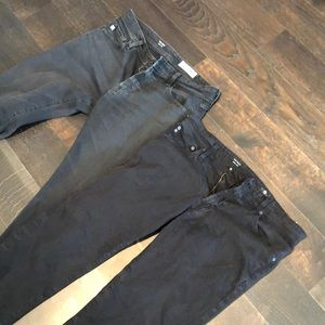 Black AG size 32 black bundle